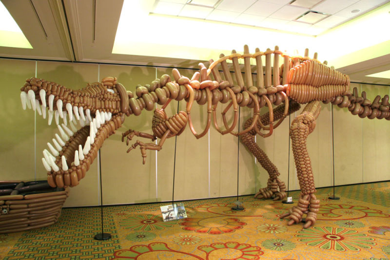 best-balloon-art-dinosaur
