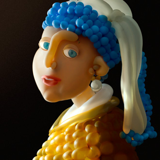 best-balloon-art-woman