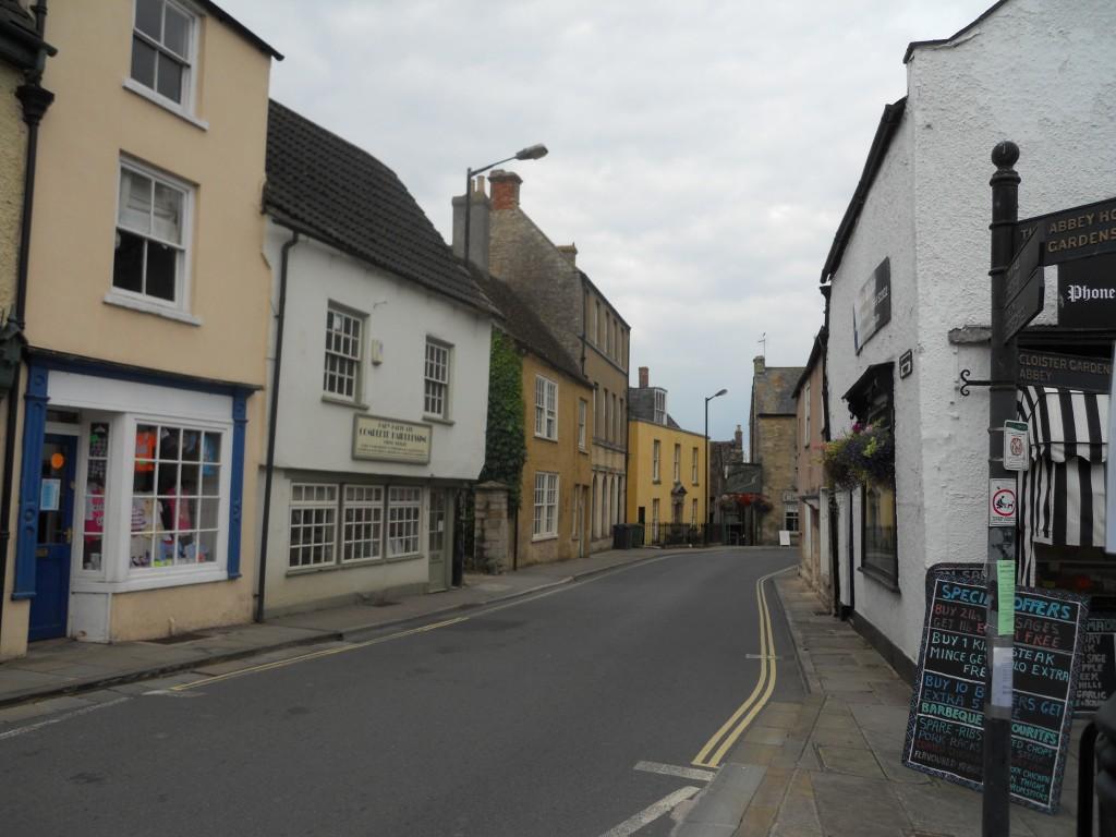 Malmesbury - metal - town centre