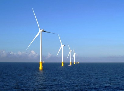 Rampion Wind Farm Sussex