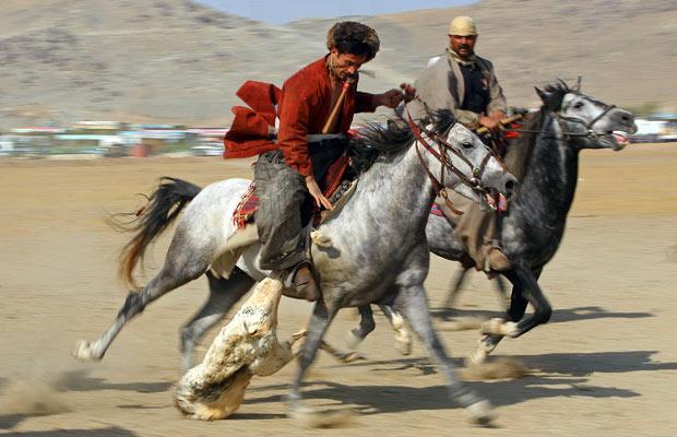 KYRGYZSTAN - Buzkashi - Afghanistan
