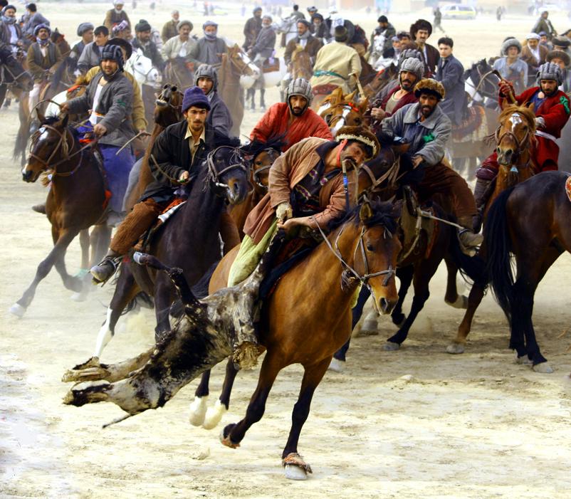 KYRGYZSTAN - Buzkashi - goat sport