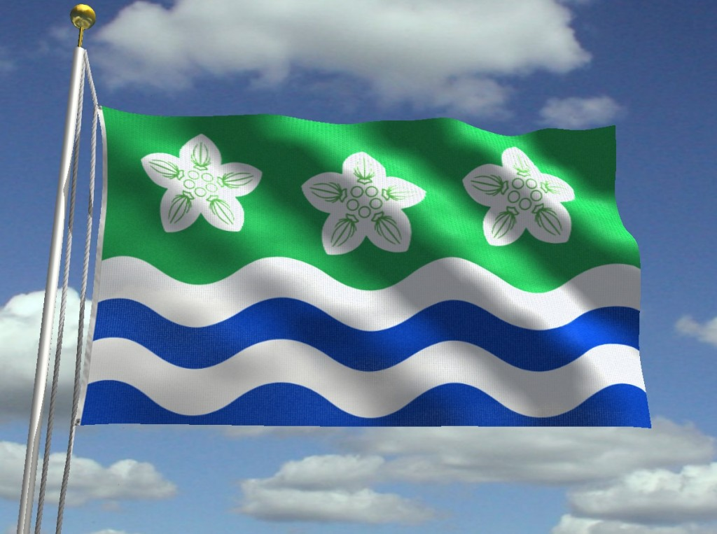 Best Flags Counties - Cumberland