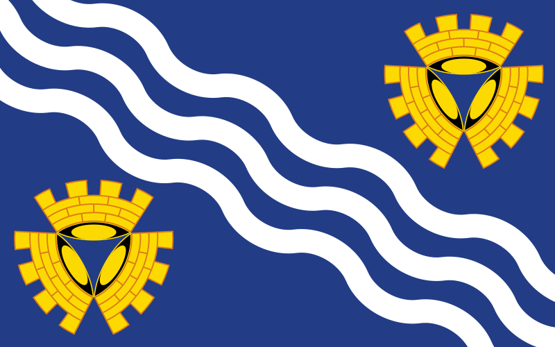 Best Flags Counties - Merseyside