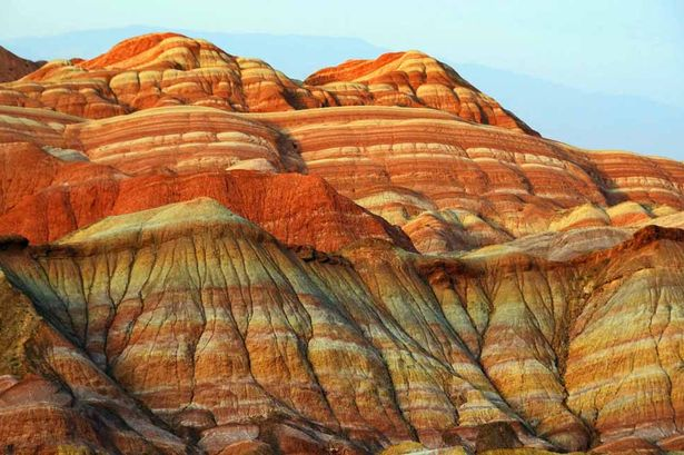 Danxia Rainbow Mountains 1