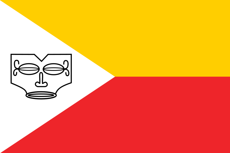 Flag of French Polynesia - Marquesas Islands