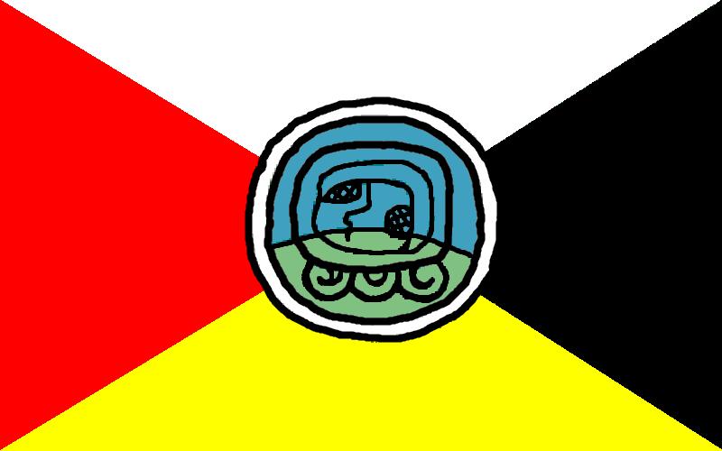 Flag of Guatemala - Bandera de los Pueblos
