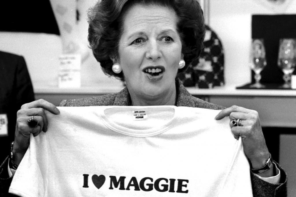 Margaret Thatcher - I love Maggie