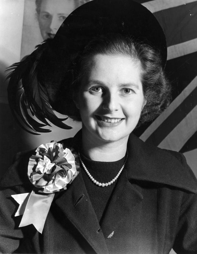 Margaret Thatcher - young