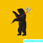 Funny Flags - Yaroslavl - Oblast - Russia - Lazer Horse