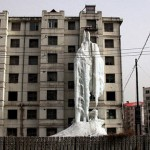 Jilin City - China - Ice Water Protest 3