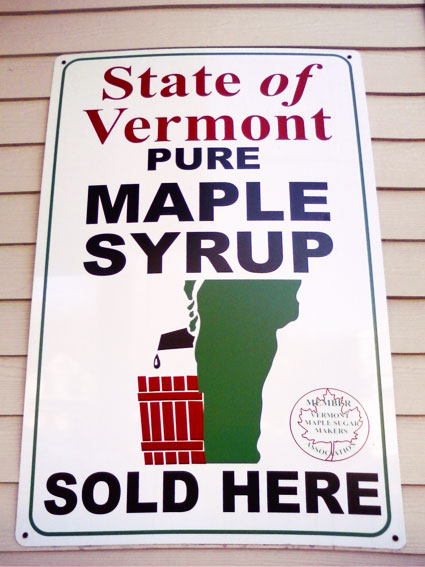 Suggestive Phallic Logo - Maple Syrup