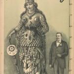 Victorian Freak Show Posters - Babil & Bijou - Giant Amazon Queen