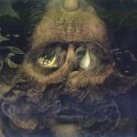 Zdzisław Beksiński - Dark eyes