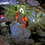 Cave of the Crystals - Naica Mexico - Giant Crystals Film Crew