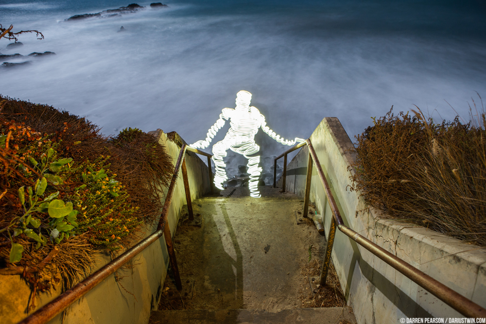 Darius Twin - Light Leak Art - Point Mugu - Malibu