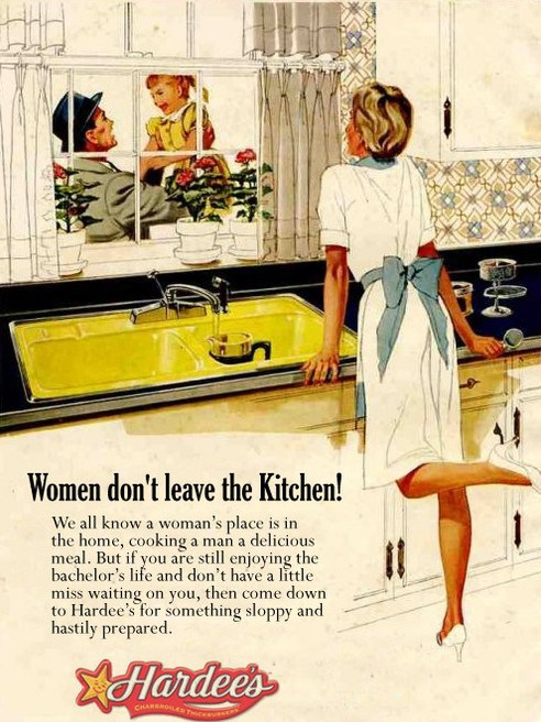 Sexist Advert - Women Don't Leave The Kitchen