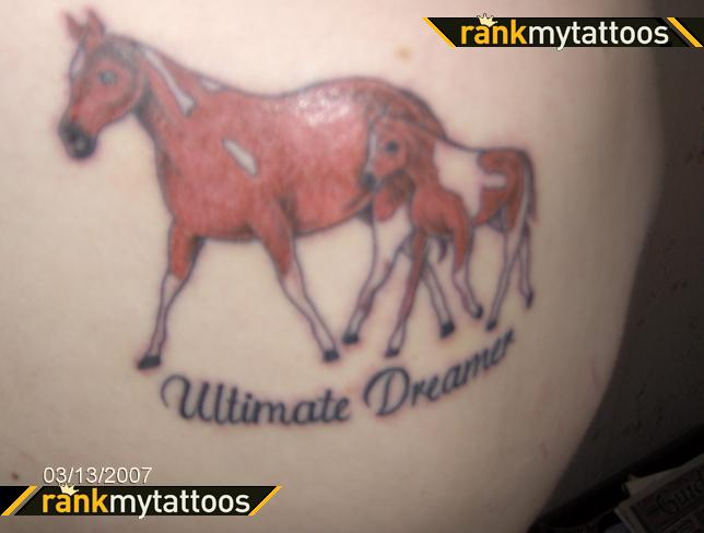 Bad Horse Tattoos - ultimate dreamer