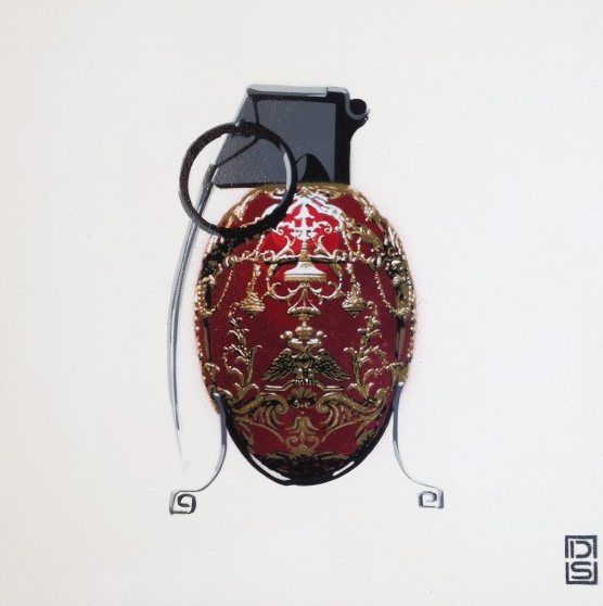 DS Graffiti Faberge Grenade