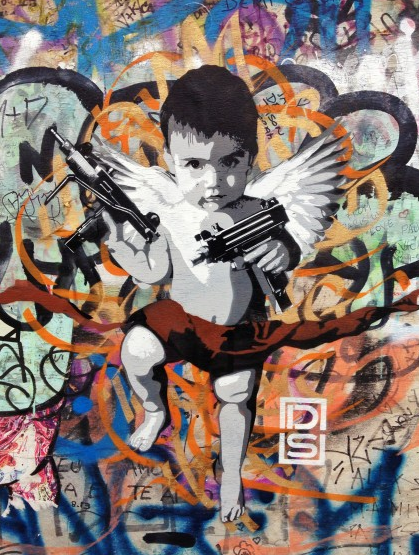 DS Graffiti Kid With Guns