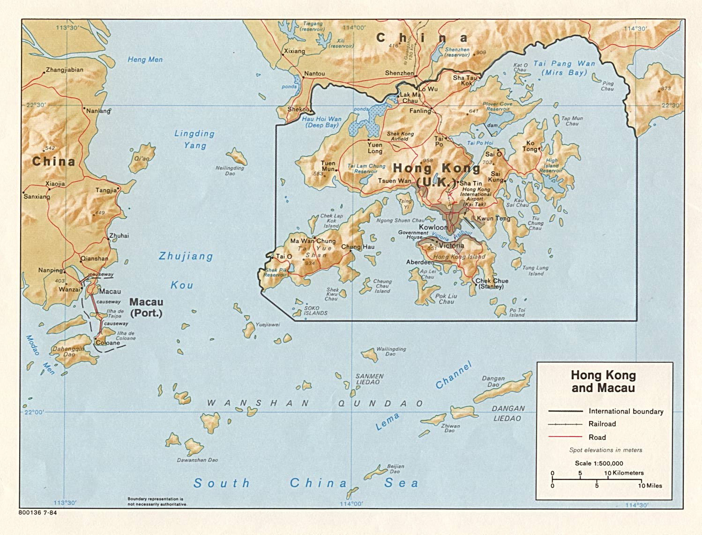 Macau macao map with hong kong lazer horse macau macao map with hong kong gumiabroncs Gallery