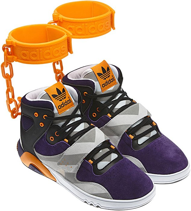 Worst trainers ever - ankle cuffs