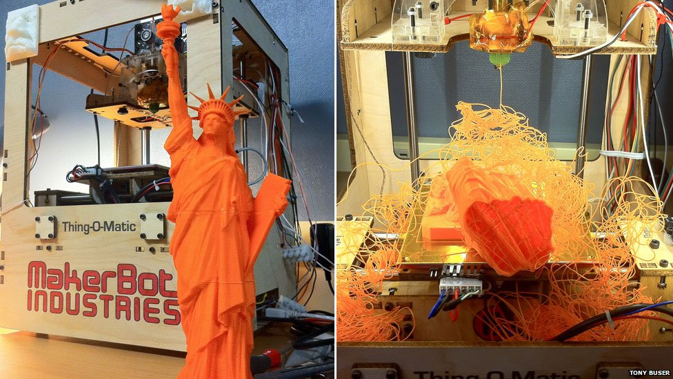 3D Printing Fail - Statue Of Liberty