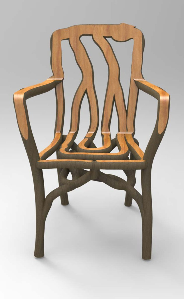 Arborsculpture Chair Full Grown Complete