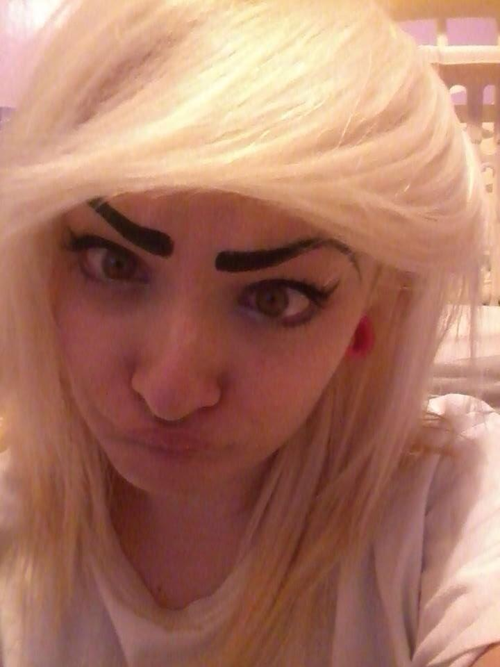 Amazingly Bad Eyebrows