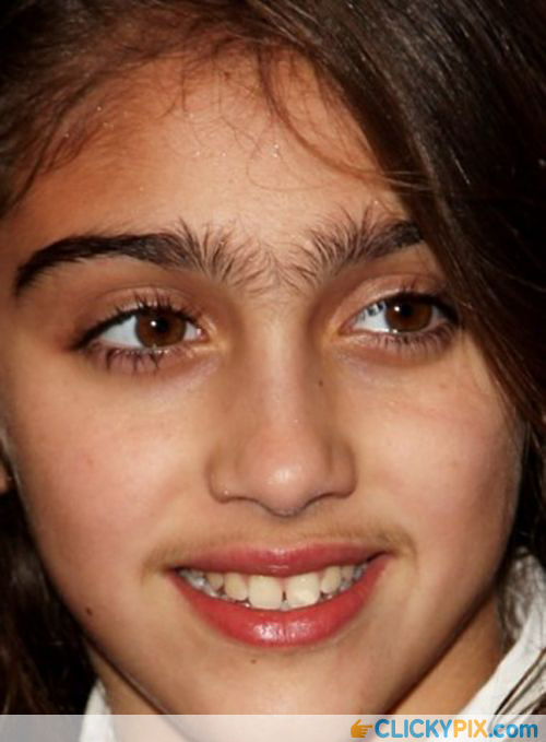 Awful eyebrows 1