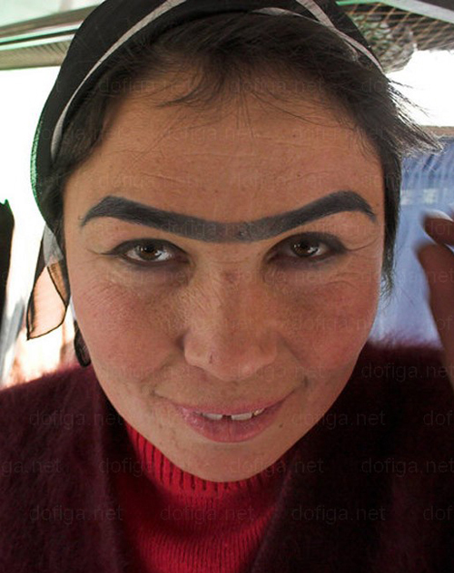 Image Number Two of Top 10 people with weird eyebrows