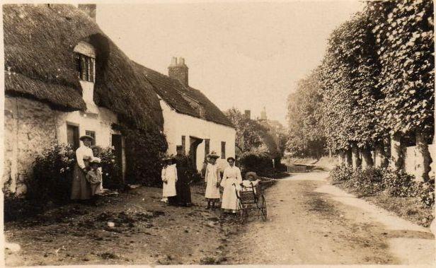 Imber - Abandoned Village Wiltshire old photo