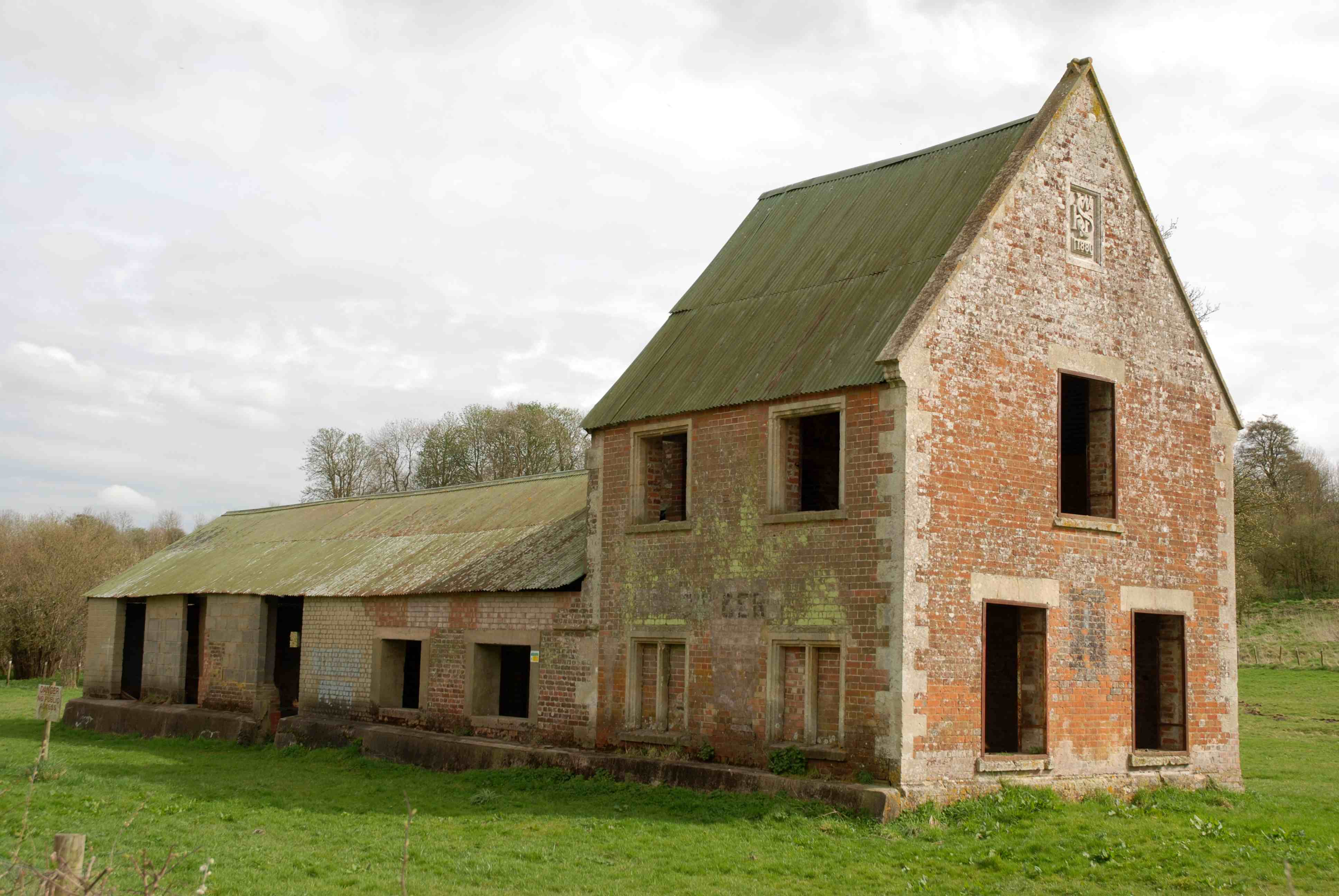 Imber - Abandoned Village Wiltshire tall building
