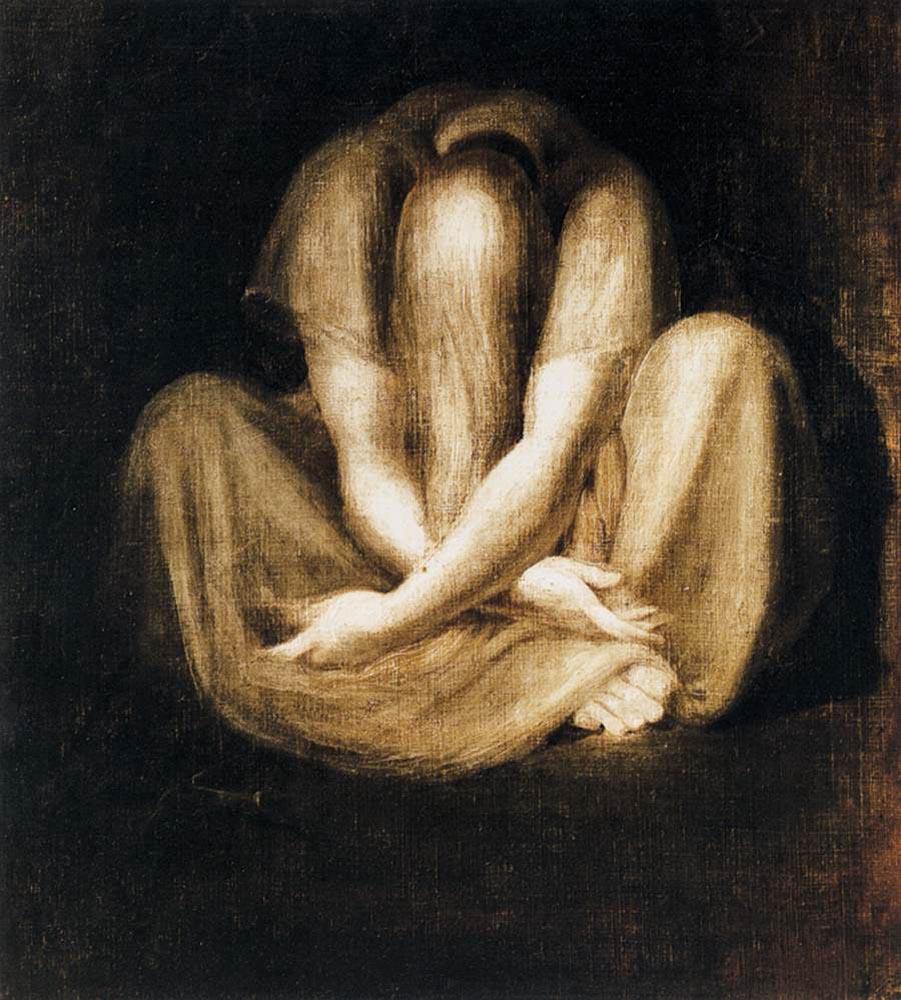 Henry Fuseli - Silence