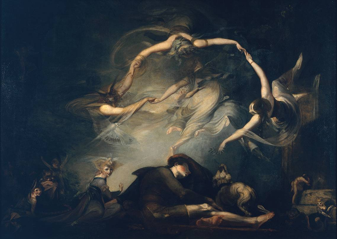 The Shepherd's Dream, from 'Paradise Lost' 1793 by Henry Fuseli 1741-1825