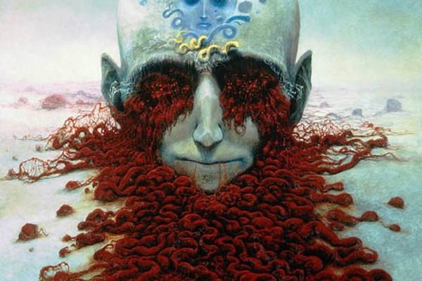 Zdzisław-Beksiński-Polish-Artist-Visions-Of-Hell-brain-guts