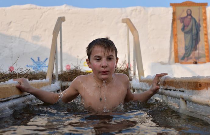 Epiphany Bathing 2014 - Tobolsk