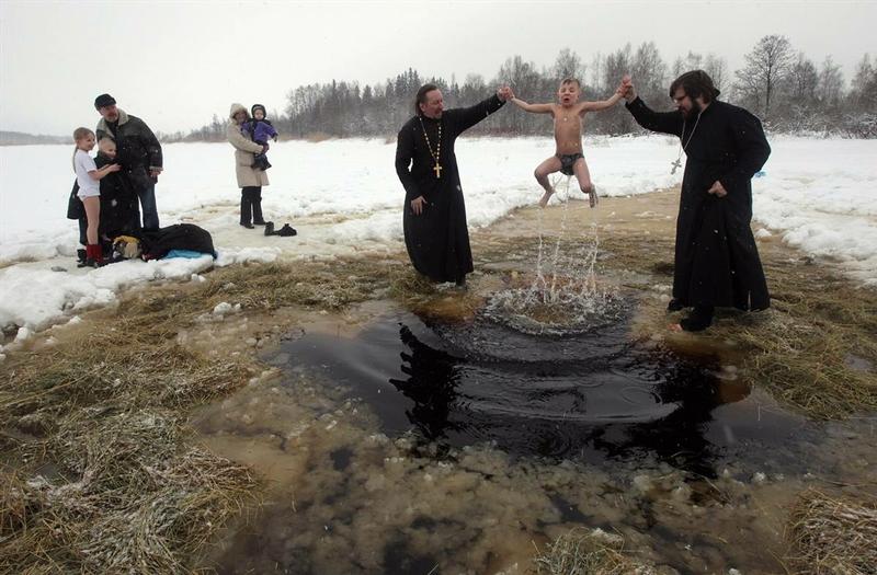 Epiphany Bathing 2014 - Vladivostok 2