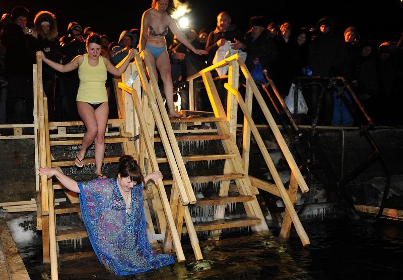 Epiphany Bathing 2014 - Vladivostok