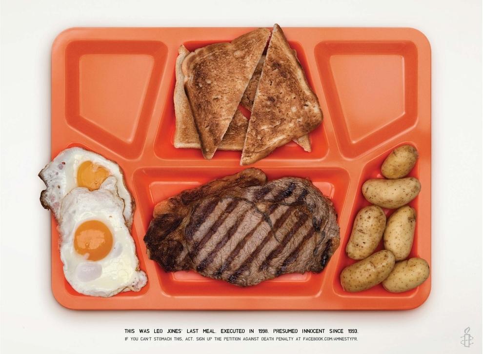 Last Meals - Execution - Leo Jones