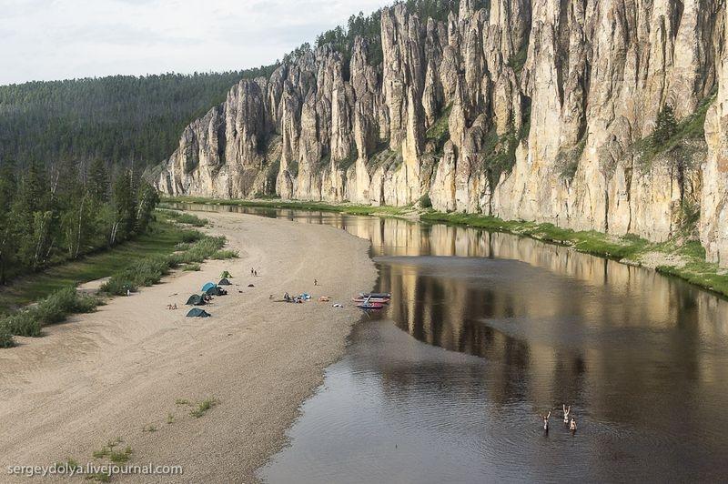 Lena Pillars - Russia Yakutsk - camping trip