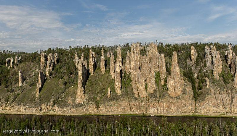Lena Pillars - Russia Yakutsk - towers