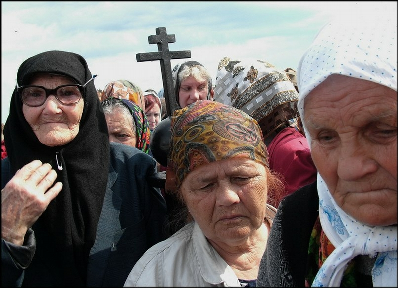 Russian Village Everyday Life - pilgrimage