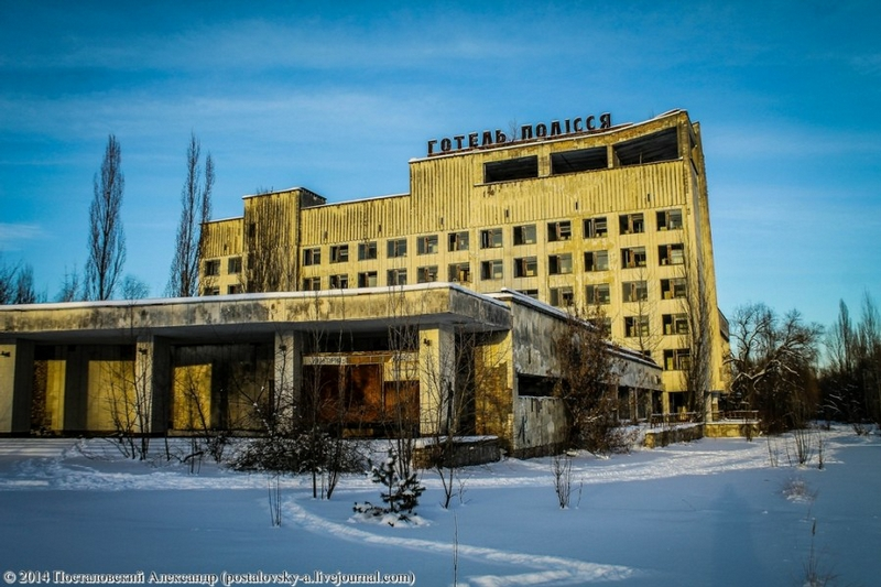 Chernobyl In Winter - Building