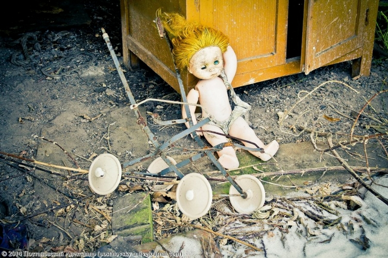Chernobyl In Winter - Doll