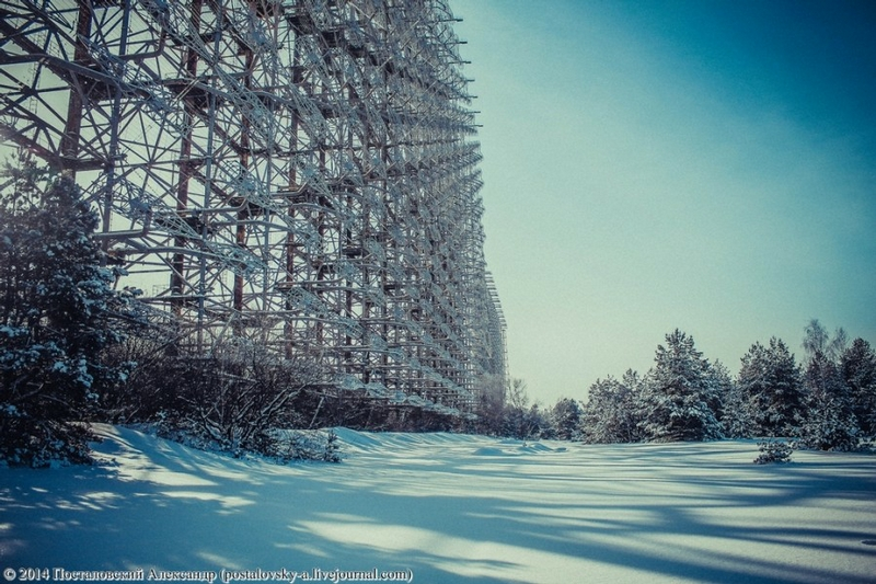 Chernobyl In Winter - Pylon 2