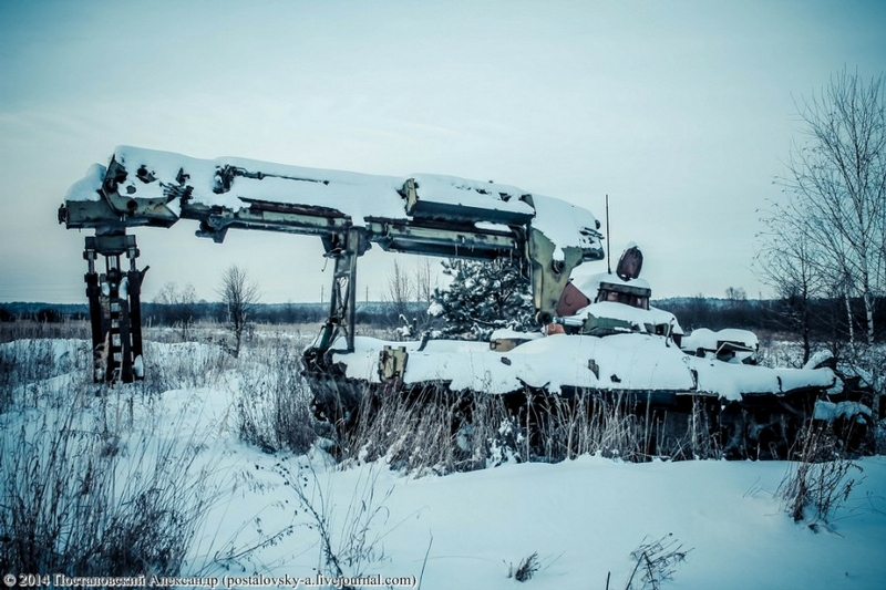 Chernobyl In Winter - water pump