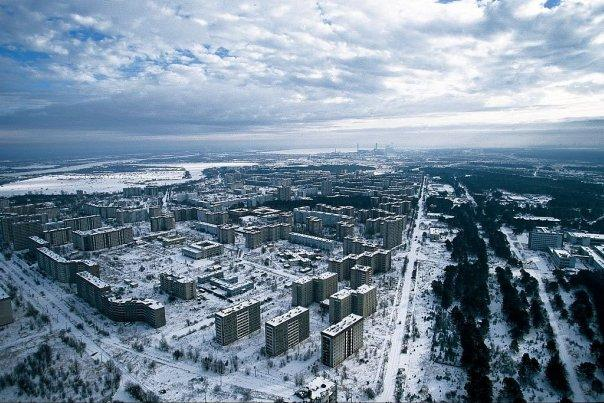 Chernobyl Winter Drone