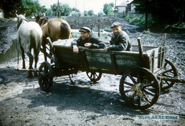 From Russia With Love - Retro Version - Horse and Cart