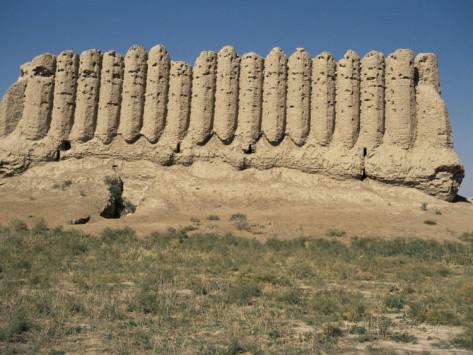 Merv Turkmenistan - Walls 2